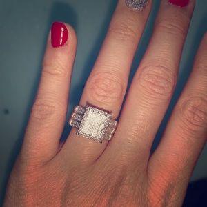 Jewelry - 1.5 carat genuine diamond engagement ring
